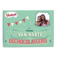 Verkade giftbox - Van harte gechocolateerd - 2 repen