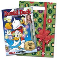 Tijdschrift met naam - Donald Duck - Kerstspecial + cadeauverpakking