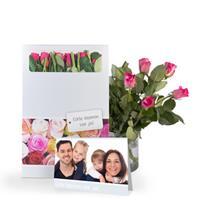 Brievenbus rozen - Roze