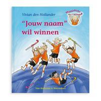 Boek met naam - Saar wil winnen - Softcover