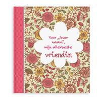 Boek met naam - Voor mijn allerliefste vriendin - Softcover