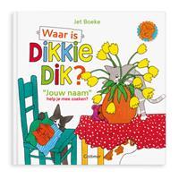 Boek met naam - Waar is Dikkie Dik? - Softcover