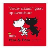 Boek met naam - Op avontuur met Pim & Pom - Softcover