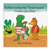 Boek met naam - Kikker en Beertje vinden een schat - Softcover