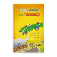 Boek met naam - Daan in de raceauto (Softcover)