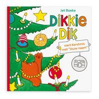 Boek met naam - Dikkie Dik viert Kerstmis - Softcover