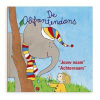 Boek met naam - De Olifantendans - Hardcover