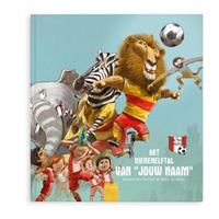 Boek met naam - Jouw eigen dierenelftal - Softcover