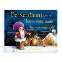 Boek met naam - De kerstman komt - Hardcover