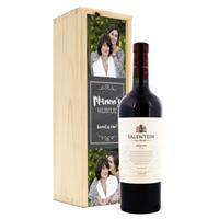 Wijn in bedrukte kist - Salentein - Merlot