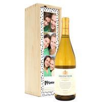 Wijn in bedrukte kist - Salentein - Chardonnay