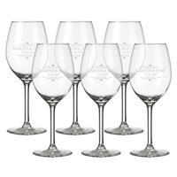 Witte wijnglazen (6 stuks)