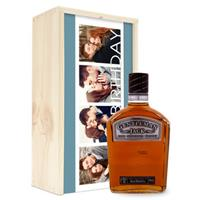 Whisky in bedrukte kist - Gentleman Jack Bourbon