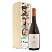 Wijn in bedrukte kist - Salentein - Primus Chardonnay
