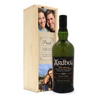 Whisky in bedrukte kist - Ardberg 10 Years