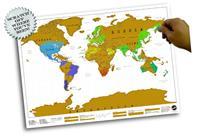 Scratch Map Persoonlijke wereldkaart