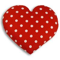 Warming Pillow Heart Polkadot - Big