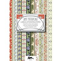 Sticker- & etikettenboek - Art Nouveau