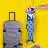 doiy Koinobori Travel Laundry Bag - Blauw