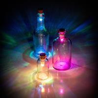 Suckuk Flessen Licht - Multicolour