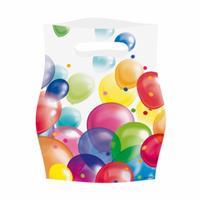 Amscan feestzakjes ballonnen 8 stuks 23 cm