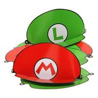 Nintendo Feest hoedjes Super Mario 8 stuks