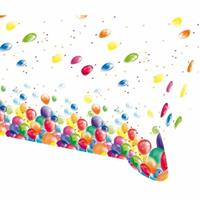 Amscan tafelkleed ballonnen 120 x 180 cm