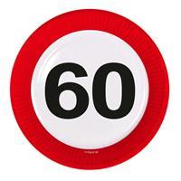 Bordjes 60 jaar verkeersbord