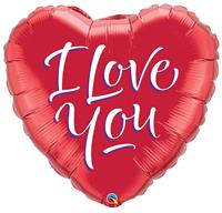 I Love You - Hart Ballon 46cm