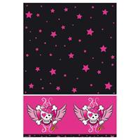 Pink Pirate Girl Tafelkleed - 130x180 cm