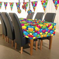 Tafelkleed ballonnetjes