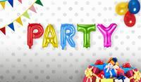 Set folie ballonnen 'Party'