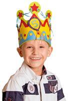 VerjaardagsKroon Leeftijden 1 tot 5 Jongen