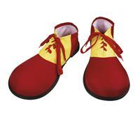 Rode clown schoenen voor volwassenen