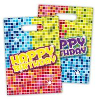 Partybags Happy Birthday Blocks