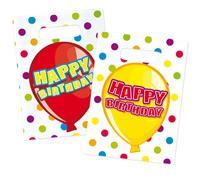 Happy Birthday Uitdeelzakjes - 6 stuks