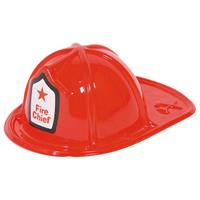 Brandweerhelm rood kind