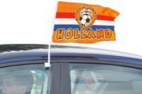 Leeuw Autovlag - oranje