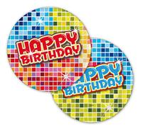 Bordjes Happy Birthday Blocks