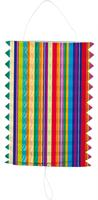 Treklampion Meerkleurige Strepen - 16cm