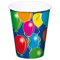 Beker Balloons 250ml 8 stuks