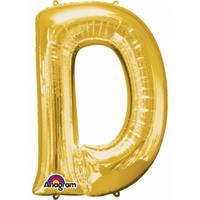 Anagram Mega grote gouden ballon letter D