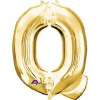 Anagram Mega grote gouden ballon letter Q