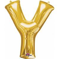 Anagram Mega grote gouden ballon letter Y