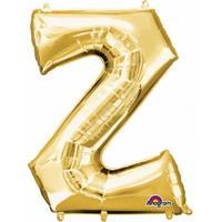 Anagram Mega grote gouden ballon letter Z