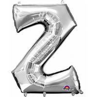 Anagram Mega grote zilveren ballon letter Z