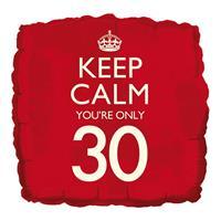 Fun & Feest Keep calm youre 30 ballon