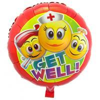 Folat Beterschap folie ballonnen emoticon