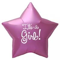 Folat Geboorte ballon its a Girl ster