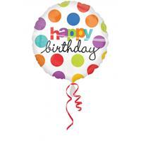 Folat Happy Birthday folie ballon helium